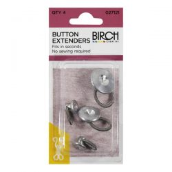 Button Extenders Pk Of 4