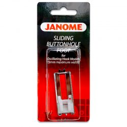 Janome Sliding Buttonhole Foot (for 5mm Models)