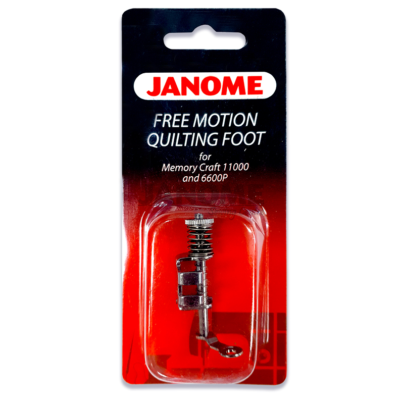 Janome Free Motion Quilting Foot For Memory Craft 11000
