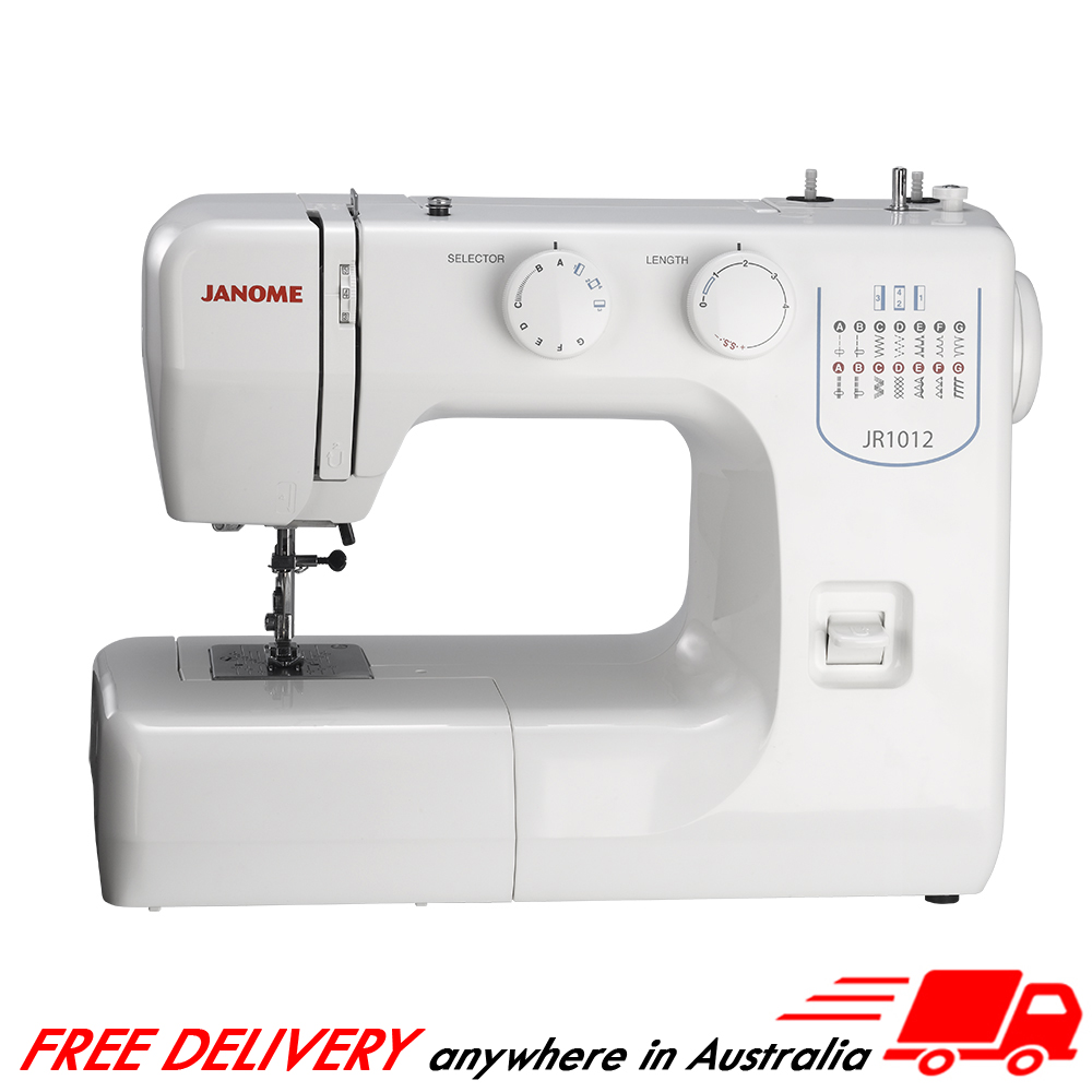 Janome Jr1012 Sewing Machine Janome Sewing Centre
