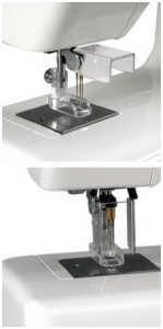 Janome Needle Guard on the Janome FM725 Xpression Embellishing Machine ()