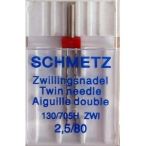 Schmetz Universal Twin Needle 2.5mm