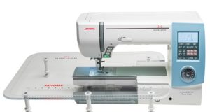 Janome MC8900QCP Special Edition with table