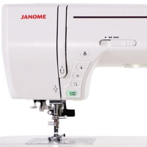 Janome MC8200QCP Touch Panel Controls