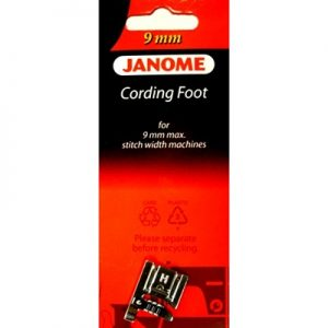 Janome 3-Way Cording Foot - 9mm