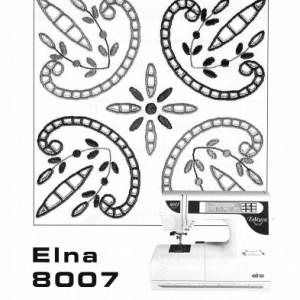 Instruction Manual: Elna 8007 (Digital Copy)