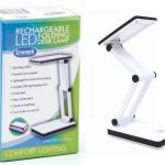 Triumph Rechargeable Folding Desk Lamp - White