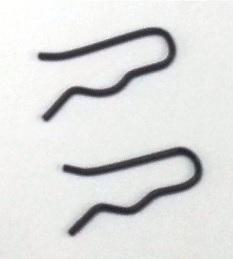 Janome Spool Pin Clip x2