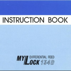 Instruction Manual: Janome 134D (Digital Copy)