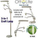 OttLite 3 in 1 Magnifying Craft Lamp