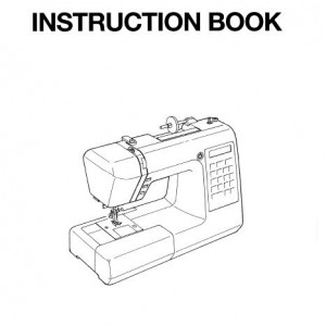 Instruction Manual: Elna 7100DBX (Digital Copy)