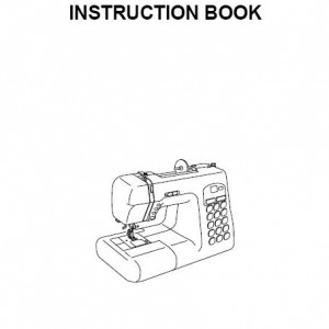 Instruction Manual: Janome Decor Computer DC4030 (Digital Copy)