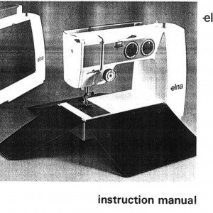 Instruction Manual: Elna Lotus Original (Digital Copy)