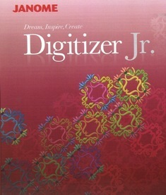 Janome Digitizer JR Embroidery Software V4.0