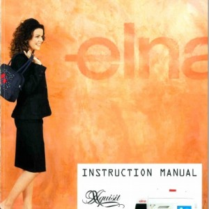 Instruction Manual: Elna Xquisit II (Digital Copy)