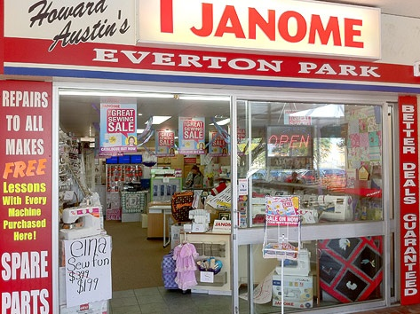 Janome Sewing Centre Everton Park