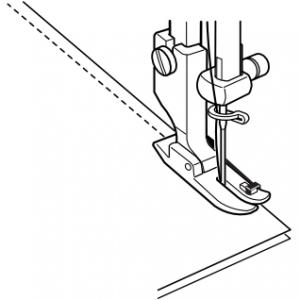 Janome Quarter Inch Foot Diagram