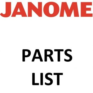 Janome Parts List ()