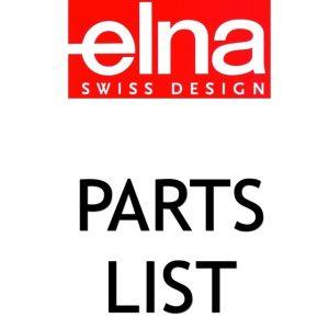 elna Parts List ()