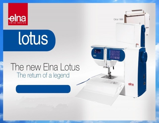 new elna lotus ad ()