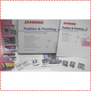 Janome Fashion and Finishing Kit