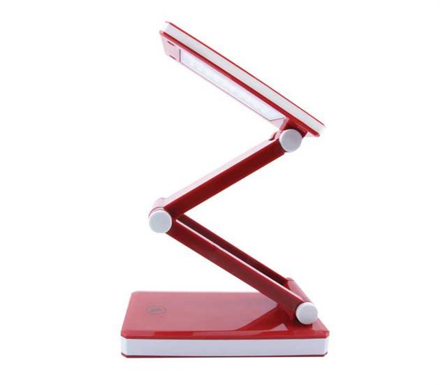Triumph Rechargeable Folding Desk Lamp Red Janome