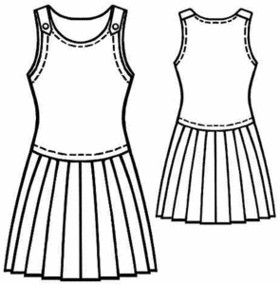 sew a sleeveless dress