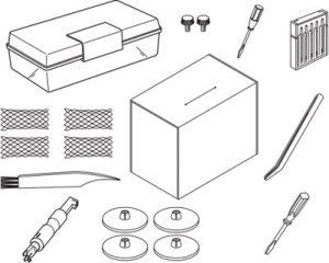Janome Cover pro 2000cpx standard accessories ()