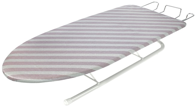 Birch Tabletop Ironing Board with legs up
