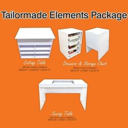 Tailormade Elements Sewing Cabinet Package