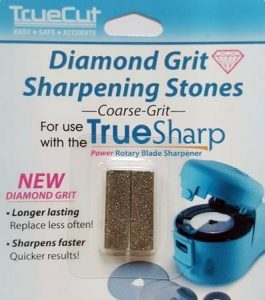 True Sharp Diamond Grit Sharpening Stones Course Grit - now comes standard with the True Sharp Power Rotary Blade Sharpener-min ()-min