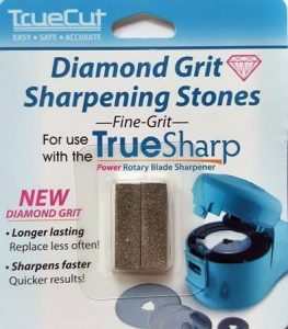 True Sharp Diamond Grit Sharpening Stones Fine Grit - now comes standard with the True Sharp Power Rotary Blade Sharpener-min ()-min