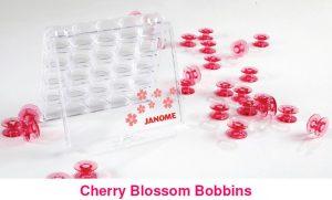 Cherry Blossom Bobbins by Janome