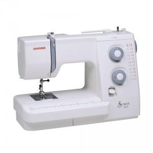 Janome mechanical sewing machine.