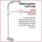 OT3020 Ott Lite Easy VIew Craft Lamp
