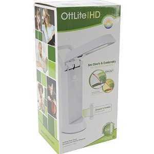 Ot3033 Ott lite Folding Task Lamp in box ()