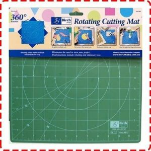 Birch Rotating Cutting Mat - 30x30cm-min ()-min ()