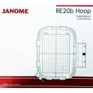 Janome RE20b Embroidery Hoop-min ()