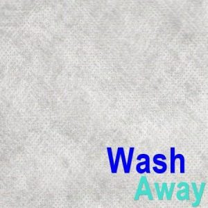 Fabric Solvy - Wash Away Stabilizer sold per metre ()