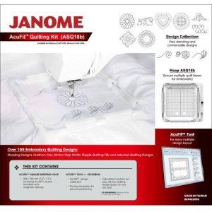 Janome Acufil Quilting Kit ASQ18b for the Janome MC500e-min ()