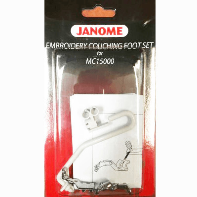 Janome Embroidery Couching Foot Set For Mc15000