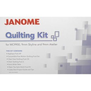 Janome Quilting Kit for Janome 9mm Sewing Machine Models-min