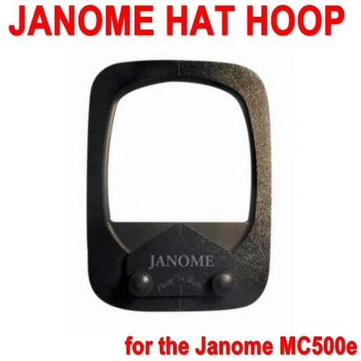 Janome Hat Hoop for the Janome MC500e ()