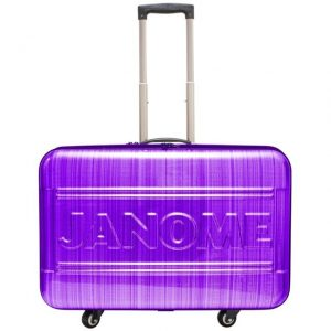 Janome Purple Large Trolley Case for Janome Horizon Machines