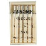 janome mixed needles