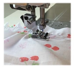 Janome Cording foot for shirring