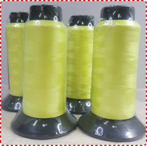 4 x 1500 Woolly Nylon - Lemon Yellow