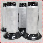 4 x 1500 Woolly Nylon - White