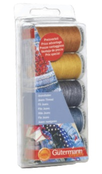 Gutermann Extra Strong and Jeans Thread Pack