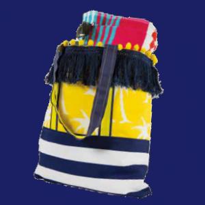 Beach Tote Bag Tutorial